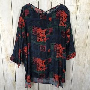 Limelight | NWT Dolan Sleeve Tunic Size Large